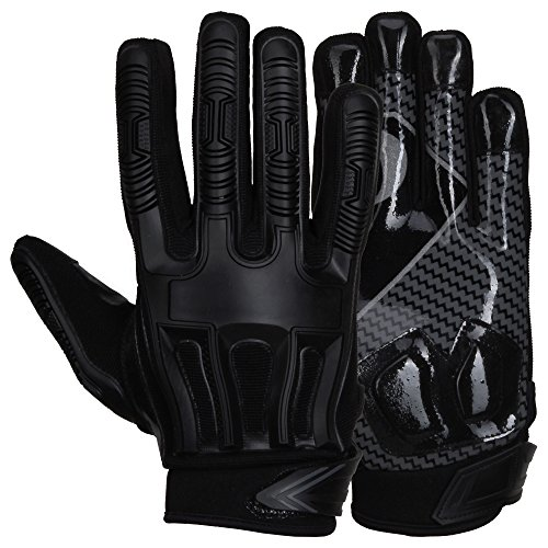 Prostyle Destroyer American Football Lineman Handschuhe - Schwarz Gr. XL
