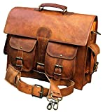 Classydesigns Vintage Style Genuine Buffalo Leather Shoulder Bag