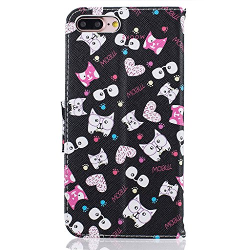 """iPhone 7 Plus Coque, ONLY pour 5.5"""" iPhone 7 Plus Housse - MYTHOLLOGY avec Support Housse PU Cuir Étui à rabat Portefeuille Antichoc Cover - HM HM"""