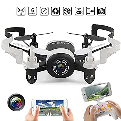 JXD 512DW 2.4GHz 6Aaxis Gyro RC Quadcopter Drone with HD Camera Headless Mini WIFI FPV Rc Drone