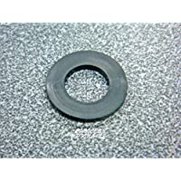 Arandelas de goma de repuesto planas negras de 1/2 pulgada para varios accesorios de