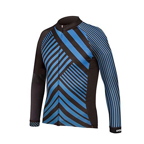 Uglyfrog Bicicletta Jersey Uomo Equitazione Traspirante Ciclo Giacca Abbigliamento Bici a Maniche Lunghe Vento Cappotto
