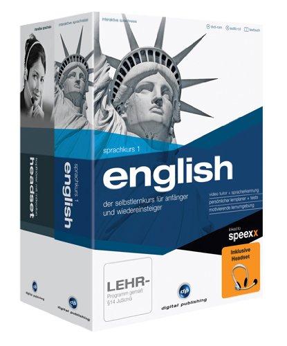Interaktive Sprachreise: Sprachkurs 1 English + Headset