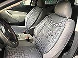 Sitzbezüge k-maniac | Universal grau | Autositzbezüge Set Komplett | Autozubehör Innenraum | Auto Zubehör für Frauen und Männer | NO1827379 | Kfz Tuning | Sitzbezug | Sitzschoner