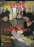 TESTE POUR VOUS N° 14 NOVEMBRE 1998. SOMMAIRE: LA POSTE A VOTRE SERVICE ? VITAMINE C EVITEZ LES SUPPLEMENTS, LAVE VAISSELLE TEST SUR DIX MODELES INTEGRABLES...