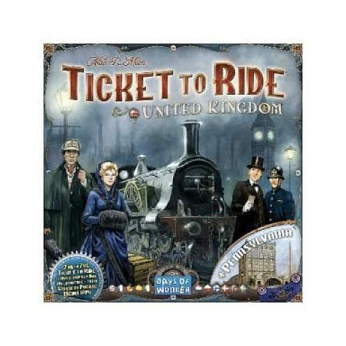 Ticket to Ride UK (Expansion - requires USA or Europe base game)