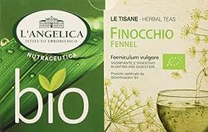 L'Angelica Tisana Funzionale Finocchio Biologico - Pacco da 5 x 32 g