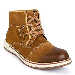 Action Shoes Nobility Men Casual Shoes Nl-2521-Brown