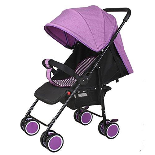 Sillas De Paseo Ligero Carritos De Bebe Plegable Carro Bebe De Viaje Por Cochecito De Bebé De 0-36 Meses Niños Fold Capacidad Plegable Max 15 Kg