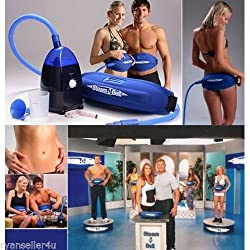 Supo Steam-O-Belt Humid Steam Sauna For Weight Loss (Blue)