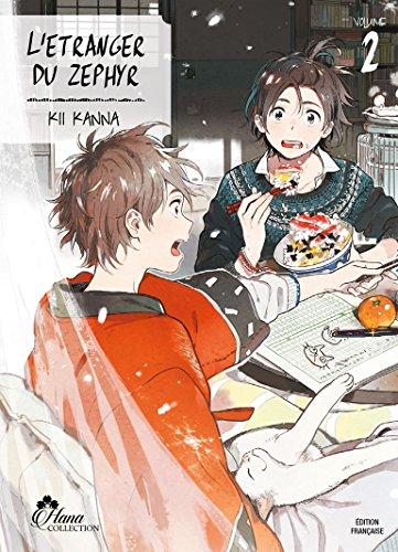 L'étranger du Zephyr - Tome 02 - Livre (Manga) - Yaoi - Hana Collection par Kii Kanna