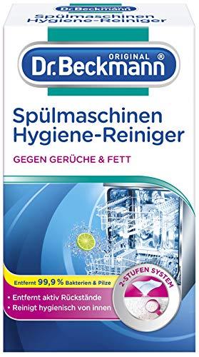 Hygiène de lave-vaisselle Dr Beckmann nettoyant 75 -Activement élimine les résidus