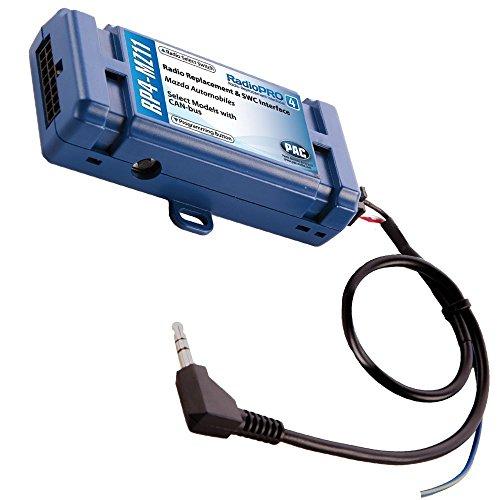 PAC RP4-MZ11 CAN-BUS Adapter (C2R-MAZDA+SWI-RC) für Mazda (Baujahr 2005 - 2012) wie z.B. Mazda 2, Mazda 3, Mazda 5, Mazda 6, Mazda CX-9, Mazda MX-5 & Mazda RX-8 Pac-cd