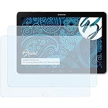 Bruni Película Protectora para Samsung Galaxy TabPro 12.2 Wi-Fi (SM-T900) Protector Película - 2 x claro Lámina Protectora de Pantalla