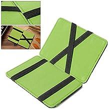 DP Design - Cartera mágica en color verde para tarjetas de crédito, unisex, ...