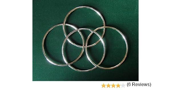 Mini anneaux Chinois Tour de Magie par 4