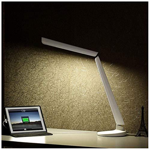 MJK Schreibtischlampe, Touch-Dimming-LED-Schreibtischlampe, Student Learning Business Office Tischlampen, Modegeschenk Tischleuchten, Tischlampe -