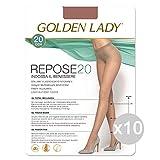 Set 10 GOLDEN LADY Repose 20 Daino 4 Socken Strumpfhosen Aus Frauen Kleidung Und Accessoires