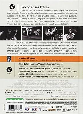 Rocco et ses frères [Édition Digibook Collector Blu-ray + DVD + Livret]