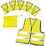 5 pcs Set High-Visibility Vest with etui