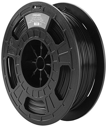 Dremel 2615BP45JB Filament pour Imprimante 3D en Nylon, Diamètre 1,75 mm, Noir