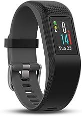 Garmin vívosport GPS-Fitness-Tracker, 24/7 Herzfrequenzmessung am Handgelenk, integriertes GPS, vorinstallierte Lauf-App, hochauflösendes Farb-Touchdisplay, 010-01789-00
