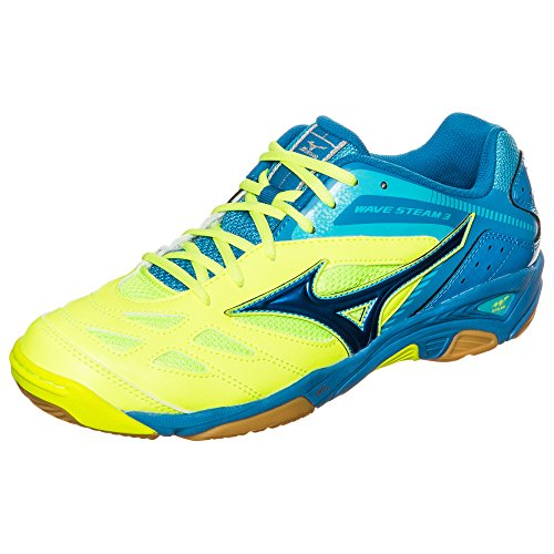 Mizuno  Wave Stealth 3, Chaussures de Handball femme Blau (blue/white/bolt)