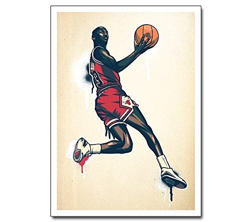 online store 472f4 2dcb2 Poster --- Michael Air Jordan --- Chicago Bulls Basketball NBA