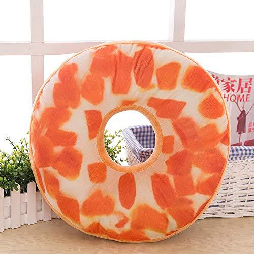 Cushion Cojines para Sillas,Rosquilla Juego de 2 Cojines para Interior o Exterior de 100% Algodon, Medidas...