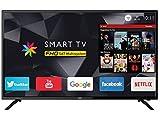 Trevi LTV 4008 SMART Televisore Smart TV 40' con Decoder Digitale DVBT-T2 e Satellitare DVBS-S2, Sistema Operativo Android, Risoluzione 1920 x 1080 dpi Full HD