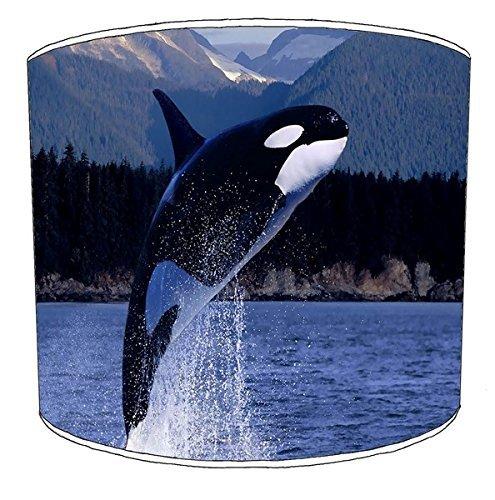 20,5cm Decke Killer Whale orca Print Lampenschirme 10 -