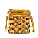 AASSDDFF Neue Mode frauen handtasche designer marke weiblichen umhängetaschen frauen crossbody taschen mini tasche freies verschiffen, gelb