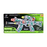 Venus-Planet Of Toys, Gun With Projector Flash Lights And Sound, AA Battery Operated For Kids Above Age 3