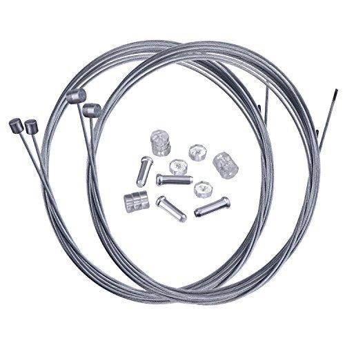 Hotop Mountain Bike Bremskabel Gear Schaltzuge and Cable End Crimps Kit -