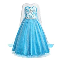 ReliBeauty Little Girls Princess Elsa Fancy Dress Costume RB-G8181B