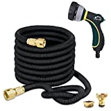 TheFitLife Expandable Garden Hose Pipe - Strongest Triple Core Latex and Solid Metal
