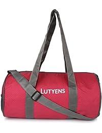 Lutyens Red Grey Hand Bag II Multiuse Bag II Smart Tuition Bag II Quality Gym Bag(21 Ltr) (Lutyens_222)
