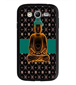 PrintDhaba Lord Buddha D-5084 Back Case Cover for SAMSUNG GALAXY GRAND NEO (Multi-Coloured)