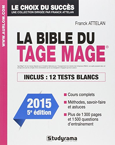 La Bible du tage mage - Edition 2015