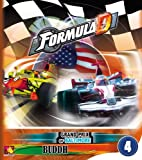 Asmodee ASMFDC4 - Formula D Circuits 4, Grand Prix of Baltimore and Buddh, Englisch, Brettspiel