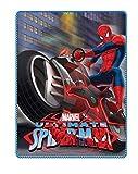 Marvel Spider Man Couverture en Microfibre Polaire pour Enfant 100 x 150 cm, Polyester, Spiderman 03, 100 x 150 cm...