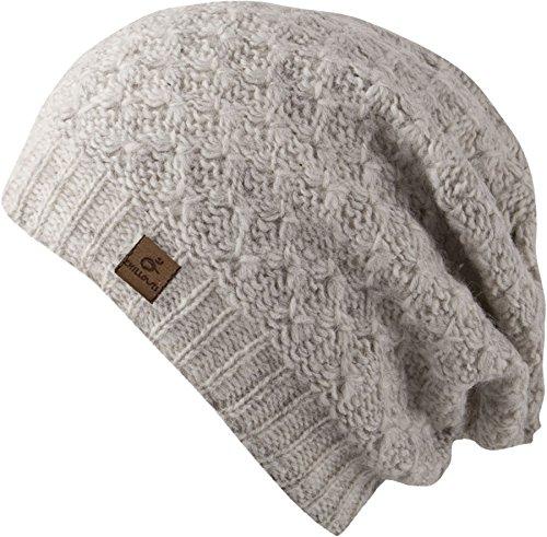 Mütze Peggy - Strick Beanie für Damen - handmade in Nepal - Strickmütze mit...