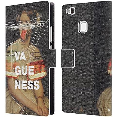 Ufficiale Frank Moth Vaghezza Ritratto Cover a portafoglio in pelle per Huawei P9 lite / G9 Lite