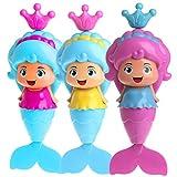 Dairyshop Meerjungfrau Aufziehspielzeug  das schwimmt, klassisches Spielzeug für die Badewanne, für Babys