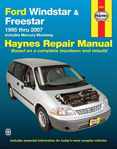 ford-windstar-freestar-1995-thru-2007-includes-mercury-monterey-by-jay-storer-published-february-201