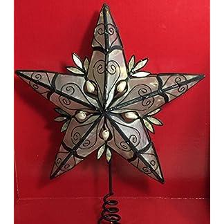 Holiday-Time-Urlaub-Zeit-Weihnachtsschmuck-267-cm-Capiz-Christbaumspitze