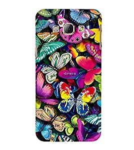 Vizagbeats Butterflies Back Case Cover for Samsung Galaxy A8::Samsung A8 2015