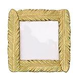 1X Toruiwa Bilderrahmen Foto Gold Feder Rahmen Bild Rahmen Barock Stil Rahmen