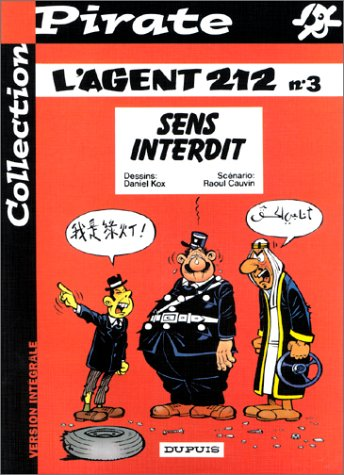 BD Pirate : L'agent 212, tome 3 : Sens interdit