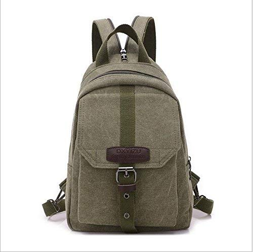 Betrothales Laptop Rucksack Studentenbewegung Für Freizeit Reisetasche Taschen Canvas Jungen Business Laptop Bag Daypacks Umhängetaschen Rosa (Color : Grün, Size : One Size)